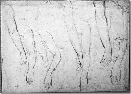 J.Auguste-Ingres_dessin-d-etude_19e