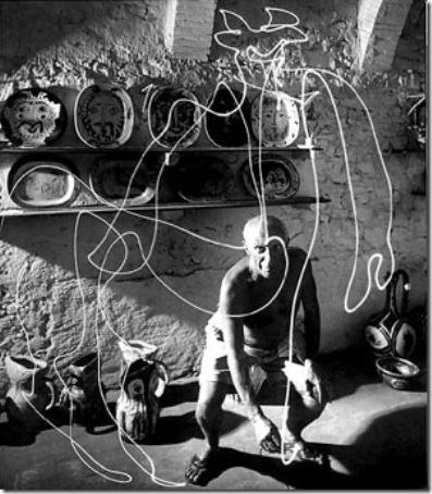 Picasso-peinture