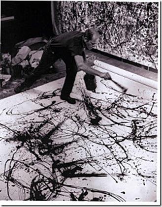 Hans-Namuth-Jackson-pollock-peignant-1950