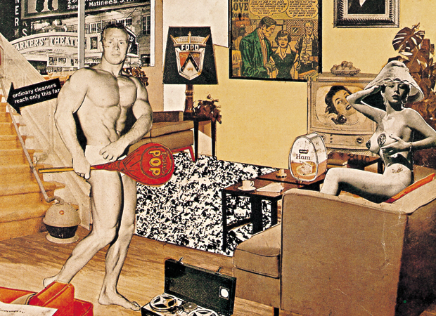 Richard Hamilton-Just What Is It That Makes Today's Homes So Different, So Appealing-1956