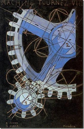 Francis Picabia-1916-18 La machine tourne vite