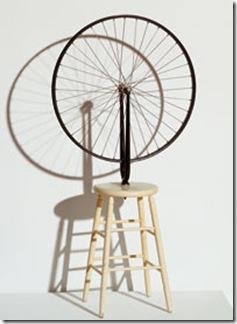 Roue de bicyclette Marcel Duchamp 1913