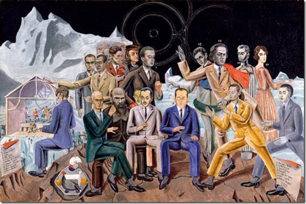 Max Ernst Au rendez-vous des artistes 1922