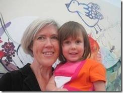 Sophie Carrier et sa fille