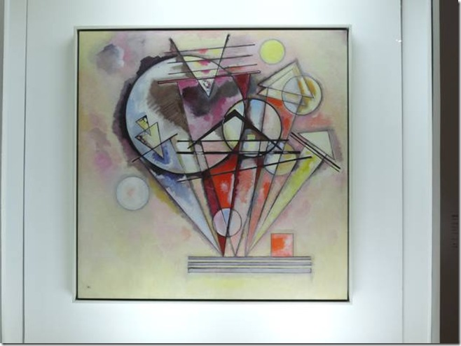 Vassily Kandinsky sur les pointes