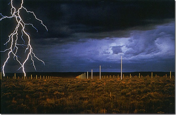 Walter De Maria-The Lightning Field 1977