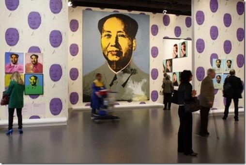 Andy Warhol – Papier peint de Mao