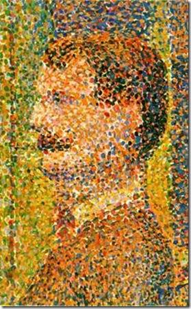Georges Seurat_La parade 1889