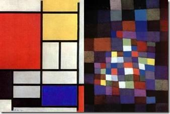 pixel Mondrian Klee