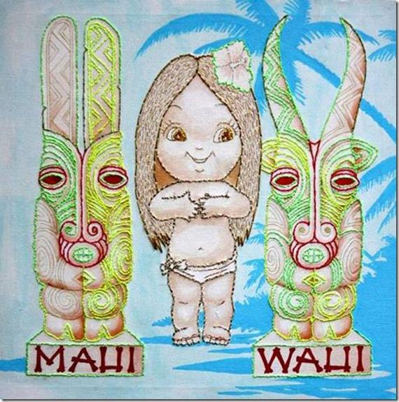 Marie-Noëlle Pécarrère, MAUI-WAUI