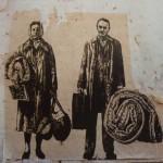 Analyse d'oeuvre : Les expulsés d'Ernest Pignon Ernest