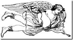 Notos - Auster : personnification du vent du Sud