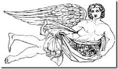 Zéphir - Favonius : personnification du vent