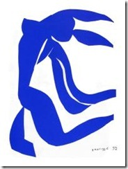 Nu bleu, Henri Matisse, 1952