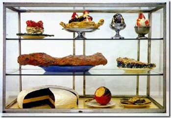 Pastry Case, Claes Oldenburg
