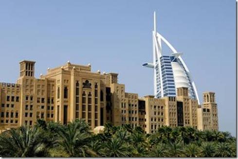 Tour à vent, Dubaï