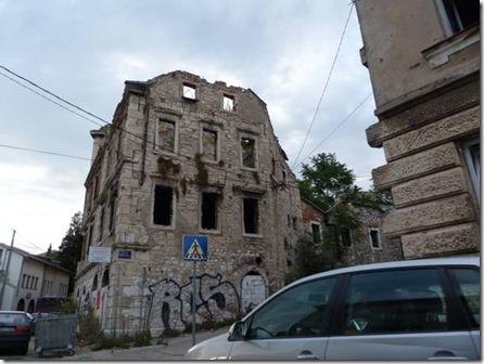 Maison bombardée Mostar