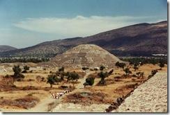 Teotihuacán au Mexique