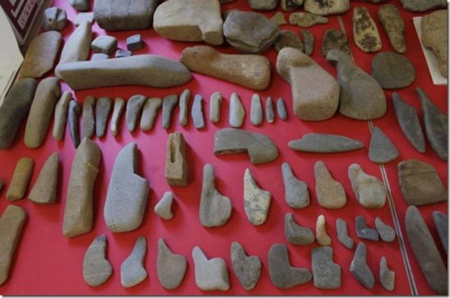 Artefacts Vallée des Pyramides de Bosnie