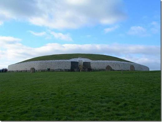Tumulus de Newgrange Irlande