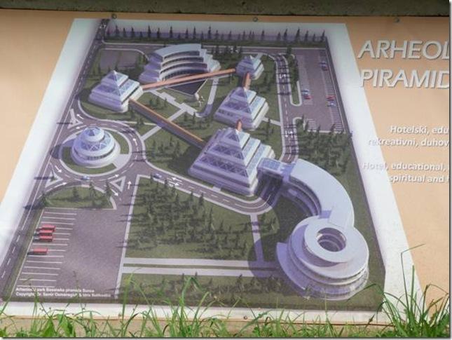futur complexe touristique de Visoko