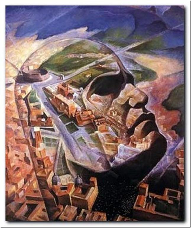 aeroritratto-Benito-Mussolini-Aviatore_1930