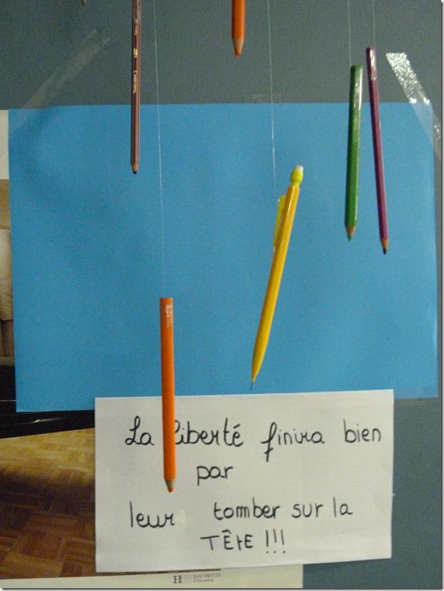 crayon entrave ou bavard 14