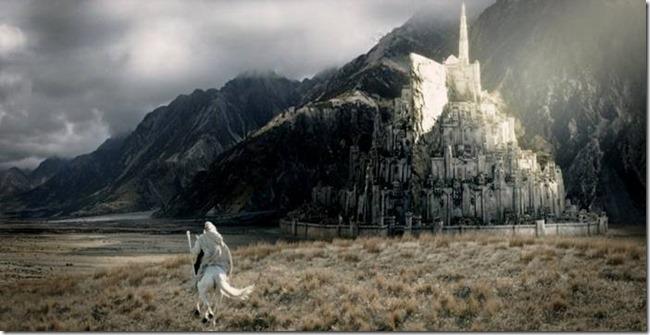 Plan d'ensemble Le seigneur des anneaux – Le retour du roi de Peter Jackson