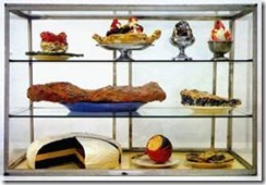 Pastry Case Claes Oldenburg