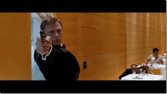 champ Quantum of Solace de Marc Forster