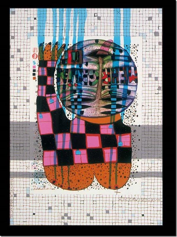 Hundertwasser, ceci est un rampeur