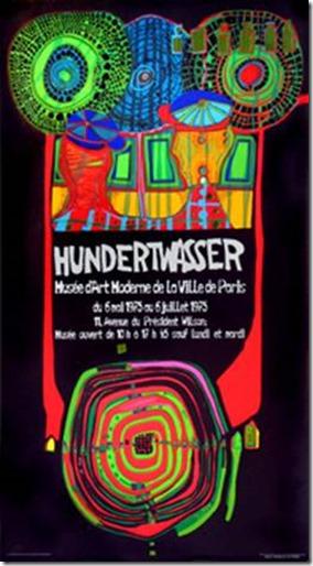 Hundertwasser Affiche