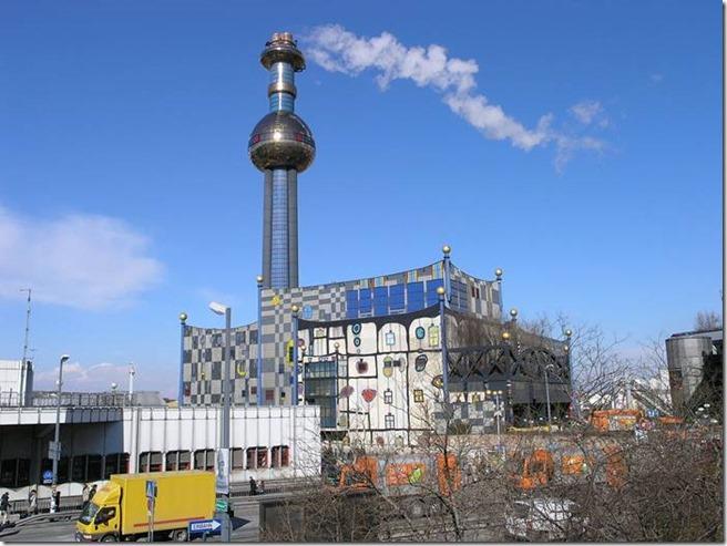 Hunderwasser_l'incinérateur, vienne