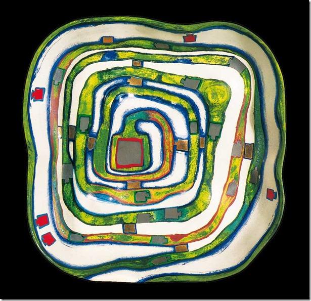 Spiralental, Vallée de spirales