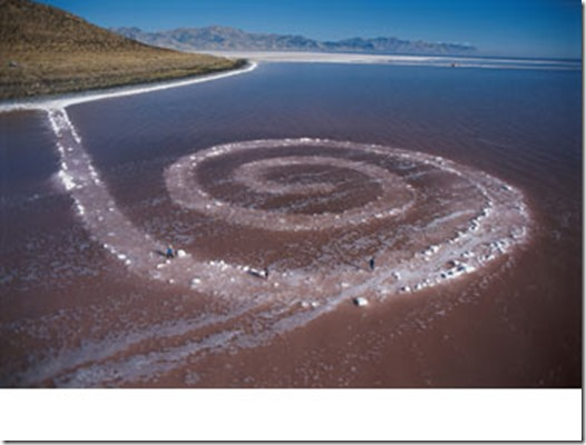 spirale Jetty de Robert Smithson