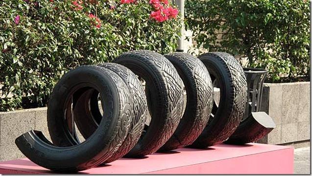 Betsabée Romero  pneus