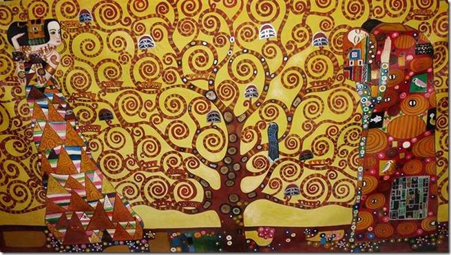 L'arbre de vie de Gustave Klimt