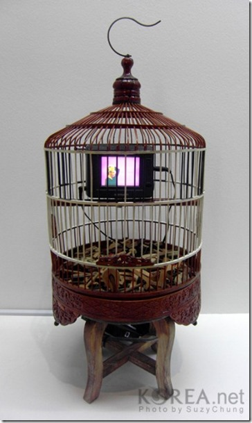 Nam June Paik's Cage in Cage