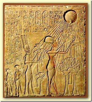 Aton, le dieu solaire