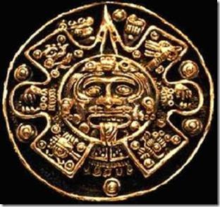 Dieu du soleil maya