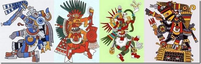 Les 4 soleils aztèques