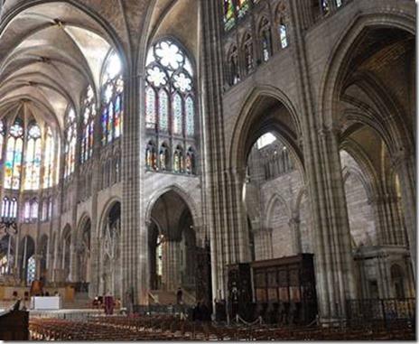Nef de l'abbé Suger, basilique de Saint-Denis