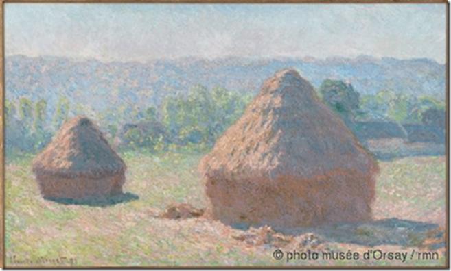 Claude Monet_Meules de foin_1890