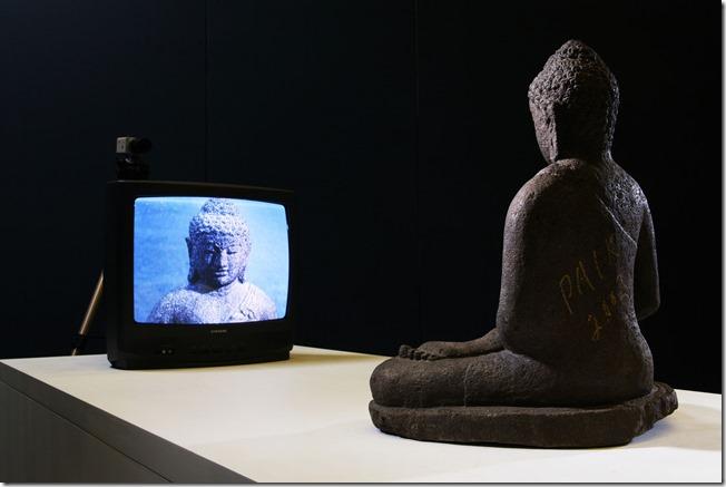 Nam June Paik, Buddha TV, 1974