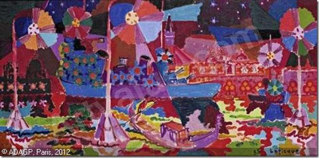 lapicque-charles-1898-1988-fra-croiseur-au-mouillage-de-saint