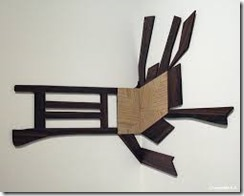 Artschwager Richard Splatter Chair 1992_2