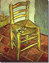 Vincent Van GOGH« La chaise à la pipe »1888. Huile sur toile 93 x 73,5 cm. The national Gallery, Londres