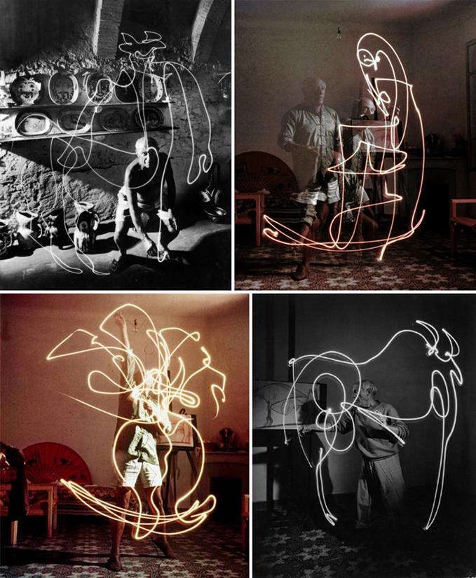 Picasso photographié par Gjon Mili, 1949_2