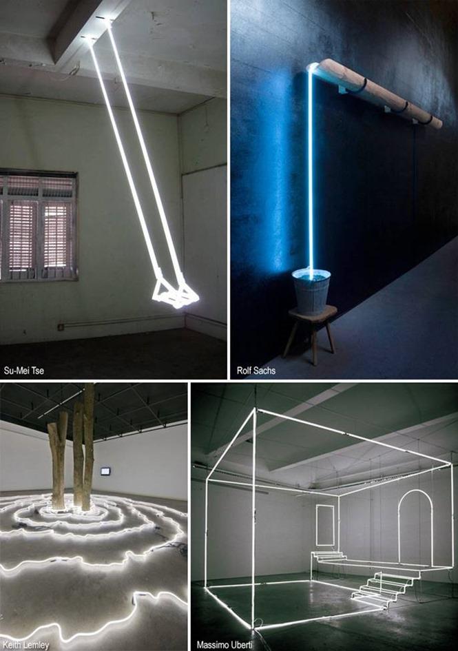lumière arts plastiques