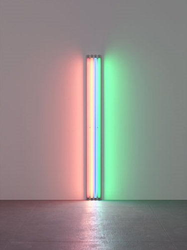 Dan Flavin Untitled-To Henri Matisse